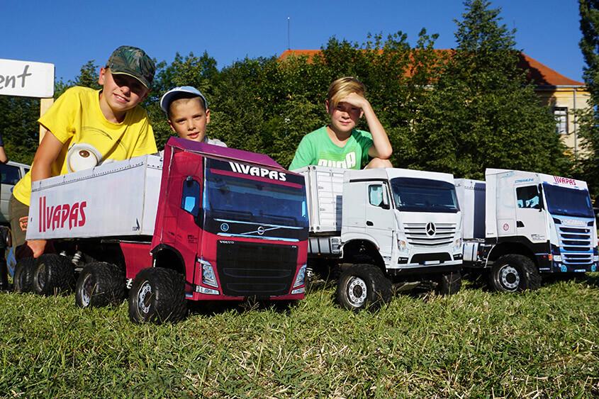 Akce pro logistickou firmu Vapas