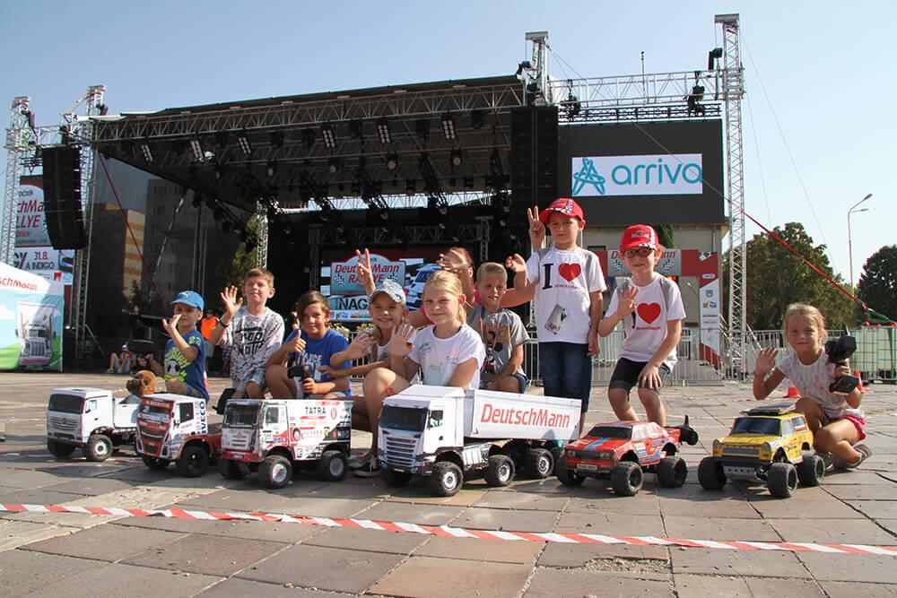 DeutschMann Internationale Spedition Rally in Trebišov